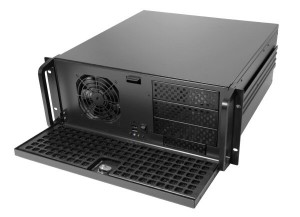 "19"" rack mounted PC with front USB ports"
